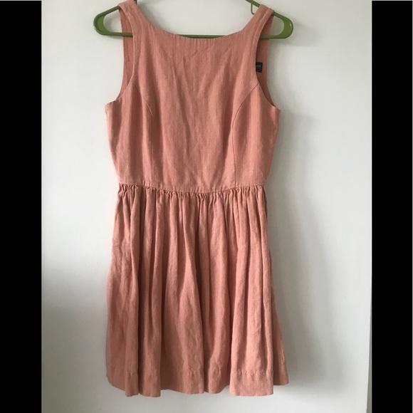 ae50ca134d4 American Apparel Dresses   Skirts - American Apparel peach linen dress S